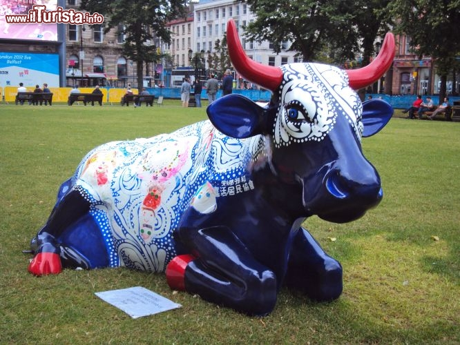 Immagine Cow Parade a Belfast