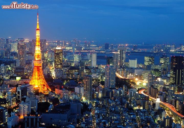 La capitale pi grande e costosa del mondo tokyo - Foto della bandiera del giappone ...