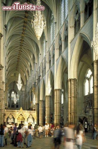 Interno Abbazia Di Westminster Londra Foto