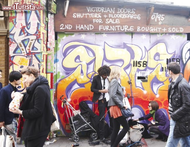 Immagine Quartiere Brick Lane - London on View/VisitBritain-