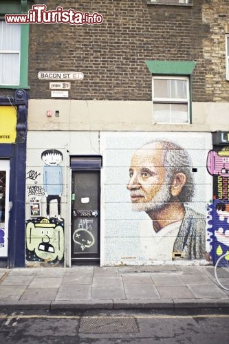 Immagine Street painting su Bacon Street, Londra - London on View/VisitBritain