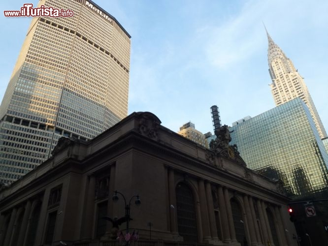 Immagine Grand central station e Chrysler Building