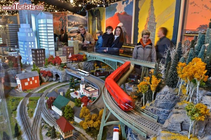 Holiday Train Show New York City