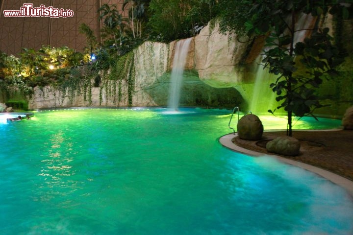 La verde laguna di Tropical Islands - © www.tropical ...  La verde laguna...
