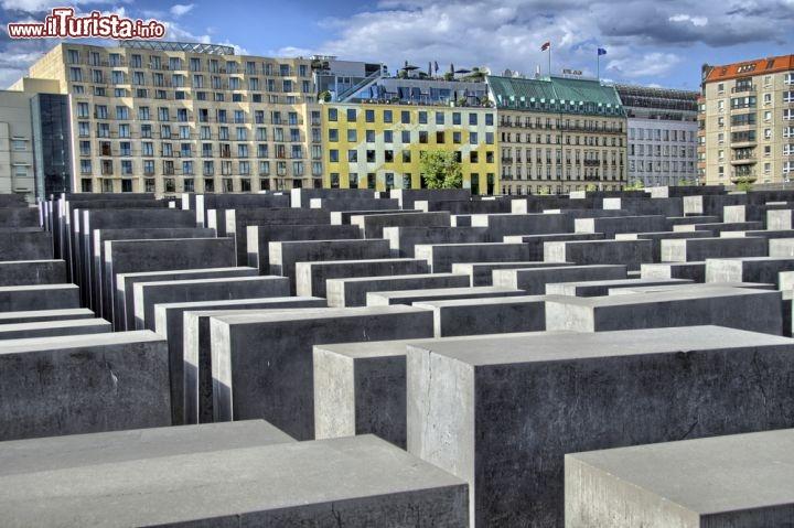 Olocausto degli ebrei il toccante monumento foto berlino memoriale dell 39 olocausto - La germania cucine opinioni ...