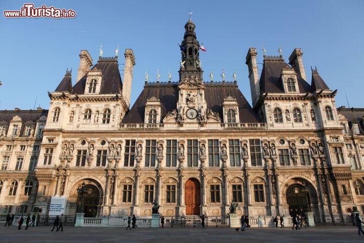 H tel de ville il municipio cittadino foto parigi for Hotel zona marais parigi