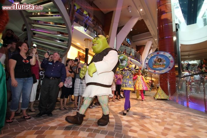 Shrek a bordo della Liberty of the Seas