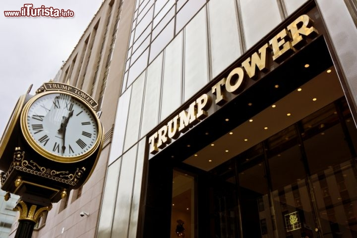 Immagine Ingresso Trump Tower, Fifth Avenue, New York City - © Cristian Baitg / iStockphoto LP.