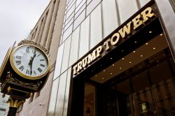Ingresso Trump Tower, Fifth Avenue, New York ...