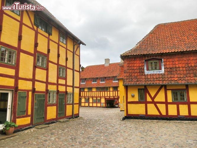 case a graticcio nel villaggio di kerteminde foto