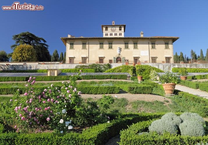 Villa medicea la petraia firenze unesco tra le ville for Villa la petraia