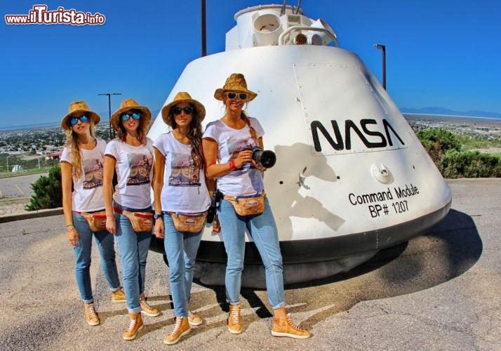 Il team al New Mexico Museum of Space History - © DONNAVVENTURA® 2013 - Tutti i diritti riservati - All rights reserved