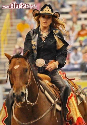 Miss Rodeo Ad Amarillo Texas La Splendida Ragazza