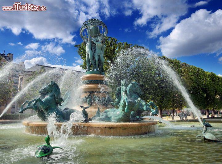 La fontaine de l 39 oservatoire nel jardin marco polo a - Le fiere piu importanti nel mondo ...