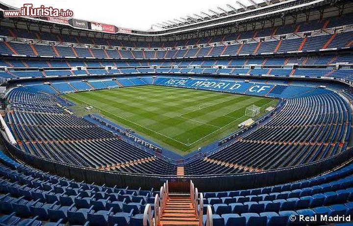 Getafe Real Madrid 0 3: Lo Stadio Santiago Bernabeu Il Tempio Del Real ...