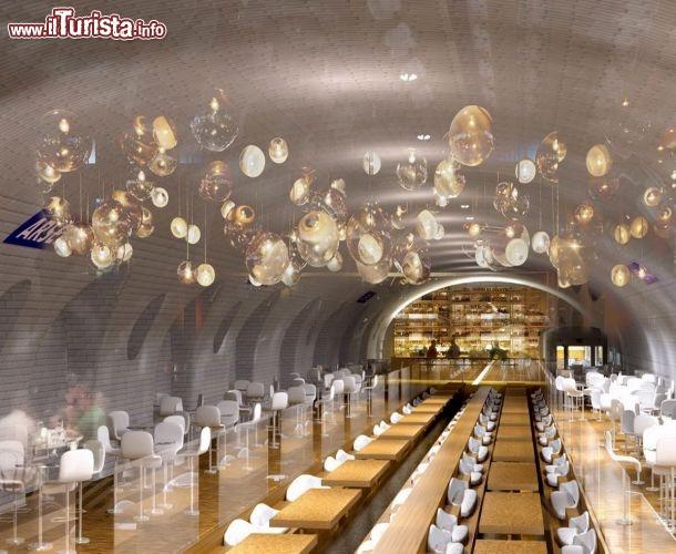 Ristorante nella stazione metro di parigi una idea di for Miglior ristorante di parigi