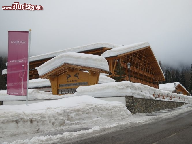 Immagine Ingresso dell'Hotel Bad Moos