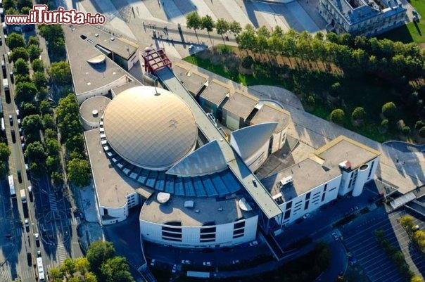 vista aerea della citt della musica foto parigi