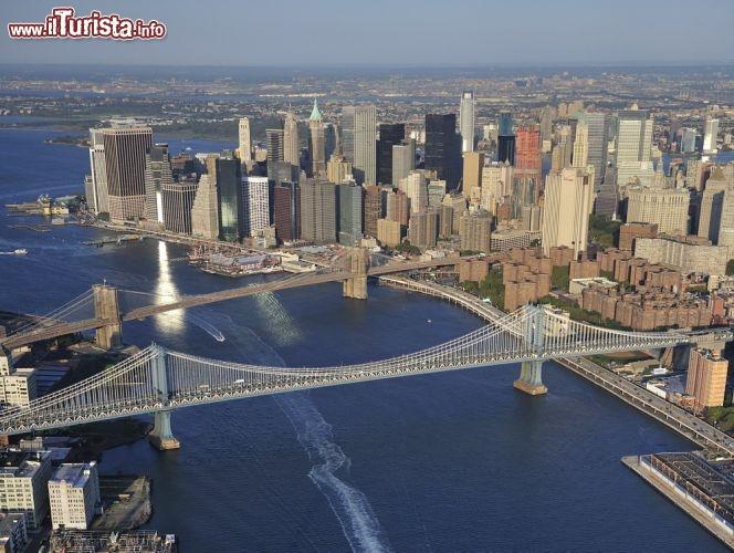 New York dall\'alto: bene visibili i ... | Foto New York City Ponte ...