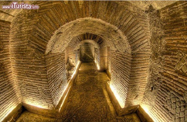 Un Tunnel Di Epoca Borbonica Nel Sottosuolo Della