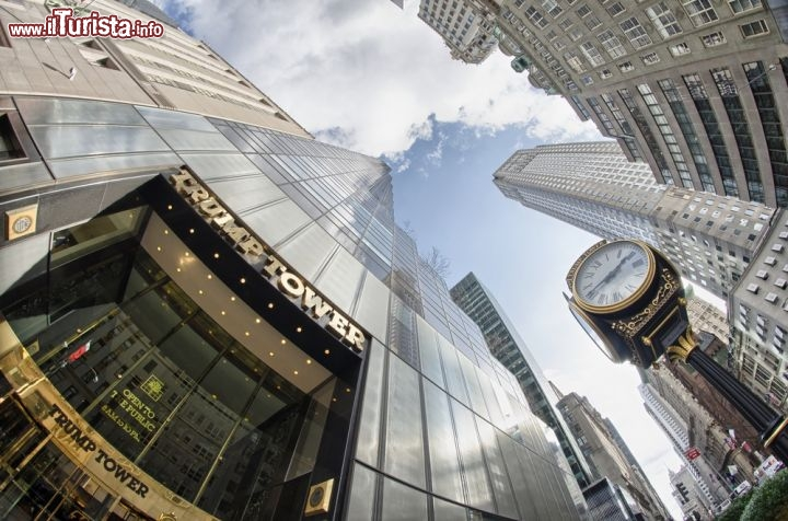 Un 39 insolita prospettiva della trump tower foto new for Trump tower interni