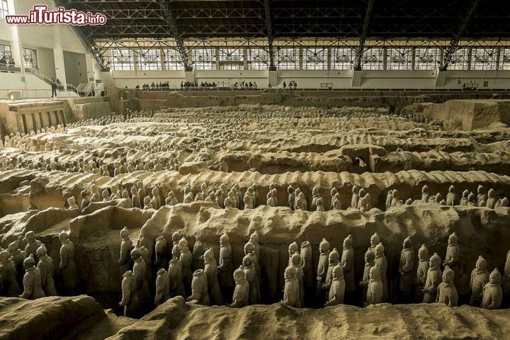 Aeroporto Di Xian : La tomba di qin shi huangdi e l esercito terracotta