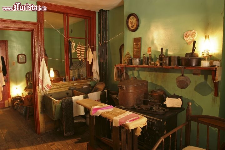 Immagine Interno del Tenement Museum a New York City