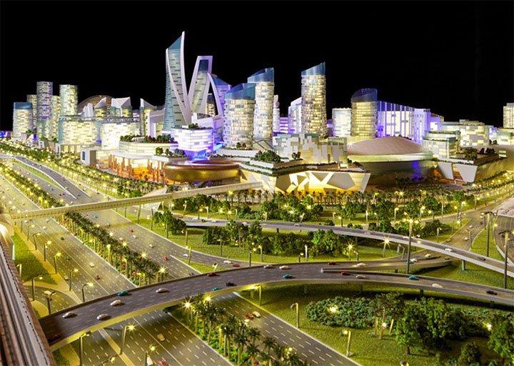 Il centro commerciale pi grande del mondo mall of the for 180 degrees salon dubai
