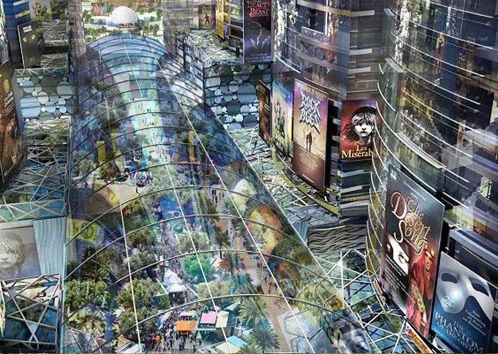 Il centro commerciale pi grande del mondo mall of the for I piu fighi del mondo
