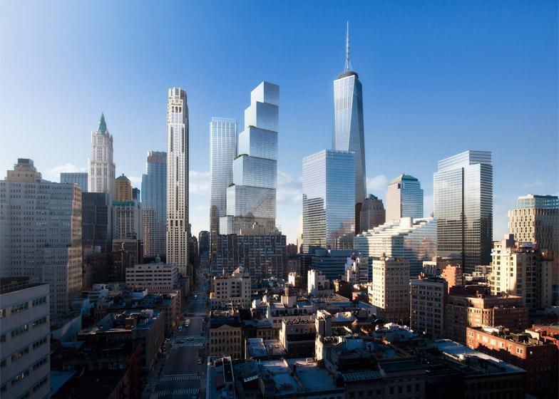 Ecco il Two World Trade Center di New York, il nuovo grattacielo a blocchi