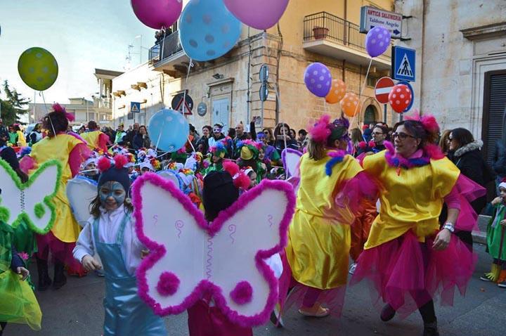 Carnevale di Aronz e Quarantana Sannicandro di Bari