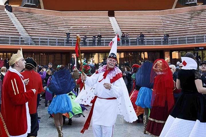 Tarantella del Carnevale Roma
