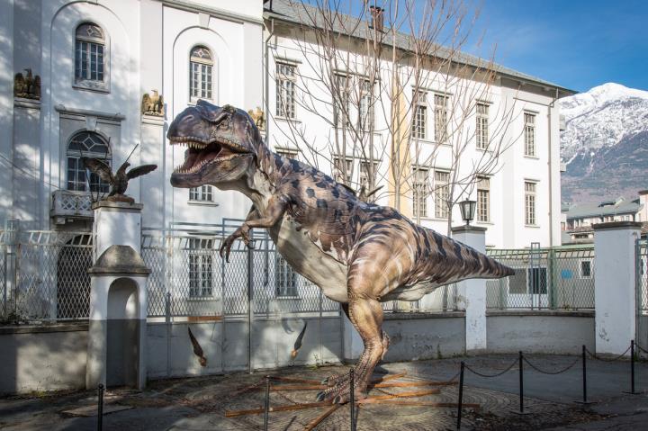 Dinosauri in carne e ossa Aosta