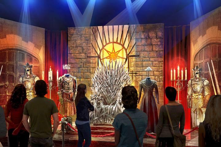 Game of Thrones, The Touring Exhibition Parigi