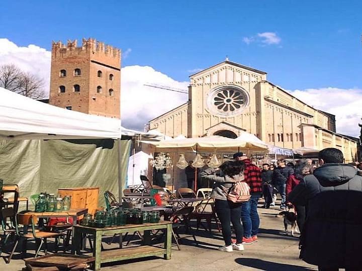 Antiquaria, mercatino antiquariato Verona