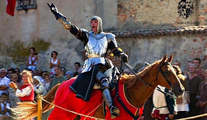 Palio di Malpaga, Sagra dei Due Castelli in Festa Cavernago
