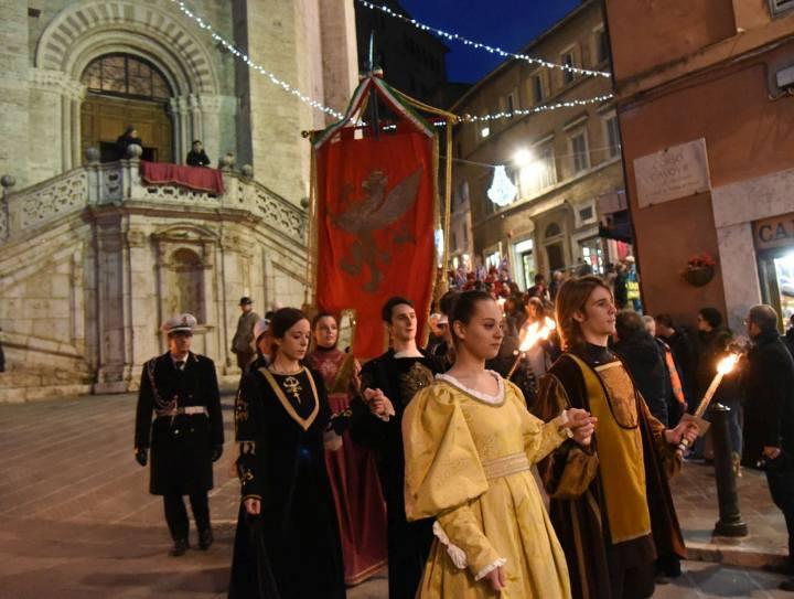 Luminaria e Festa di San Costanzo Perugia