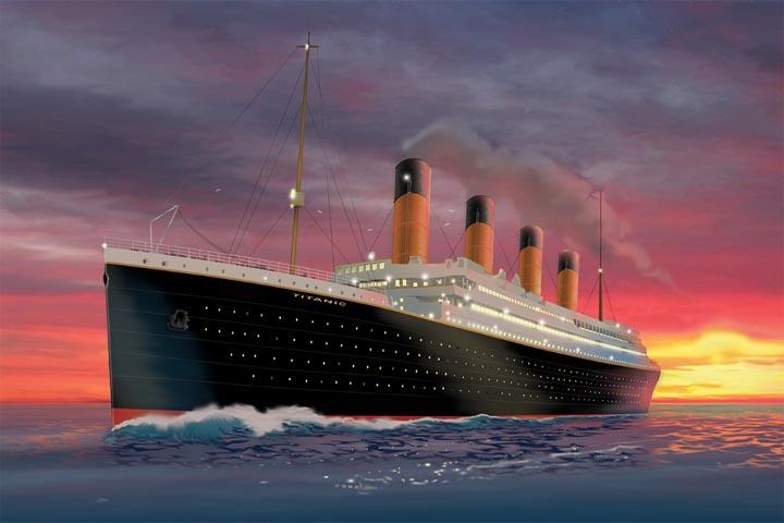 Titanic. The artifact exhibition Torino