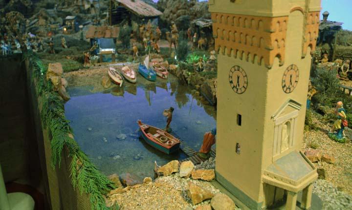 Presepe in riva al mare Savona