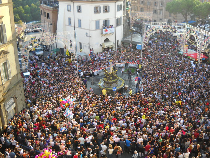 Sagra dell'Uva - Miracolo delle Fontane che danno vino Marino
