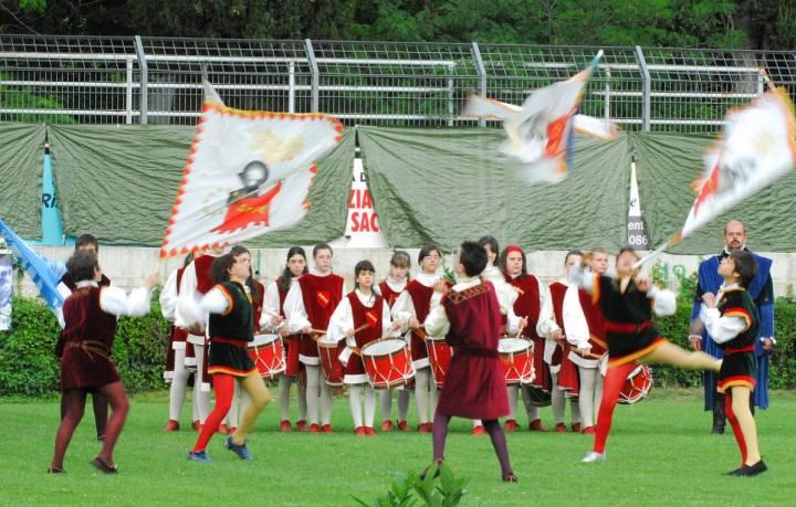 Cordesca - Giostra dei bambini Sulmona