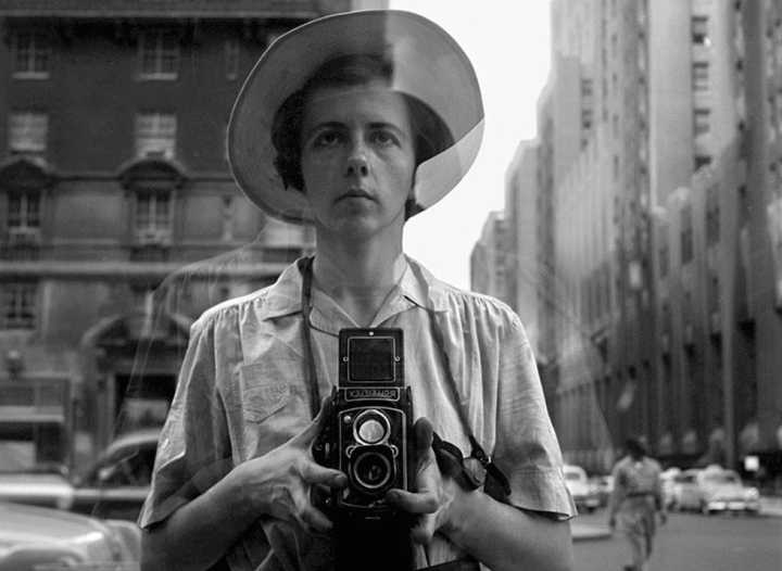 Vivian Maier. Street photographer Pavia