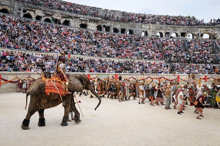 Jeux Romains Nimes