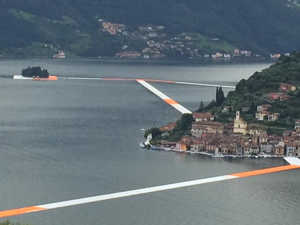 The Floating Piers - Christo Lago d\'Iseo
