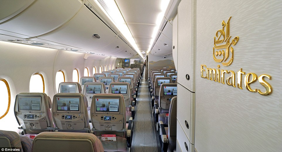 Il nuovo airbus a380 800 emirates l 39 aereo pi capiente for Sistemazione new york