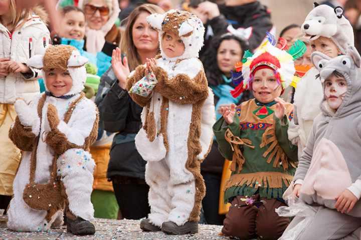 Carnevale Ampezzano - Corsa dei Sestieri Cortina d'Ampezzo