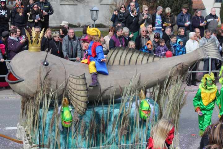Groppenfasnacht, Carnevale dello scazzone Ermatingen