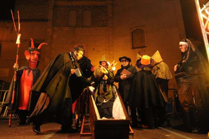 Carnevale morto Montorio al Vomano