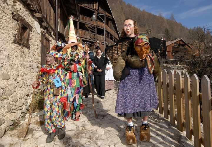 Carnevale della Gnaga Forno di Zoldo