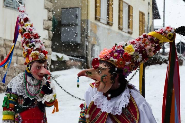 Carnevale Ladino Penia di Canazei